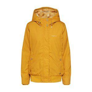 mazine Zimní bunda  zlatě žlutá
