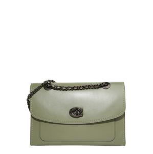 COACH Taška přes rameno 'refined calf leather parker shoulder bag'  zelená