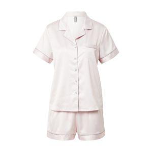 LingaDore Pyžamo  světle šedá / růžová