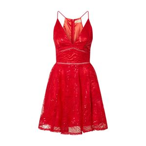 Love Triangle Společenské šaty 'Constellations'  červená