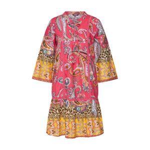 PRINCESS GOES HOLLYWOOD Letní šaty  svítivě růžová / žlutá