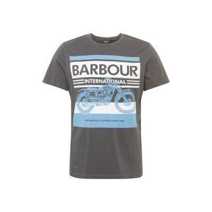 Barbour International Tričko  tmavě šedá
