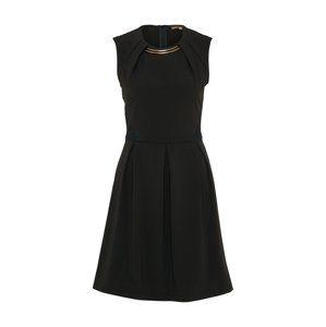 ABOUT YOU Koktejlové šaty  černá