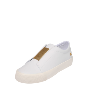 Lauren Ralph Lauren Slip on boty 'ISLA-SNEAKERS-ATHLETIC SHOE'  bílá