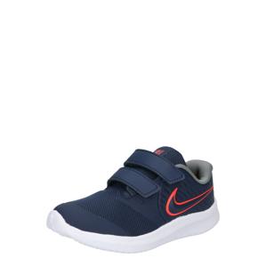 NIKE Sportovní boty 'STAR RUNNER 2'  námořnická modř / červená