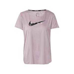 NIKE Funkční tričko  šeříková / černá / bílá