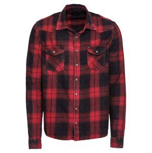 LTB Košile 'Rohan'  červená / černá