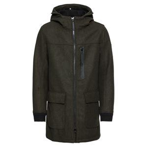 TOM TAILOR Přechodný kabát  zelená
