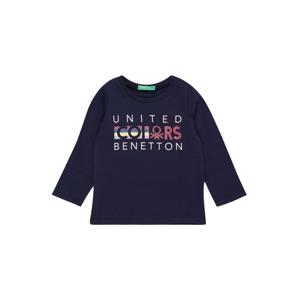 UNITED COLORS OF BENETTON Tričko  námořnická modř / barva bílé vlny / melounová / žlutá