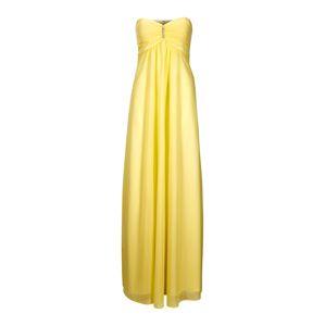 Heine Společenské šaty  pastelově žlutá