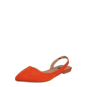 ONLY Páskové sandály 'LANAS'  oranžová
