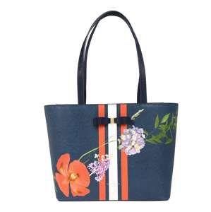 Ted Baker Nákupní taška 'titania hedgegrow shopper'  tmavě modrá / mix barev