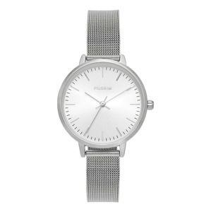 Pilgrim Analogové hodinky 'Lola'  stříbrná