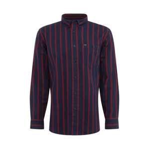 Lee Košile 'RIVETED'  námořnická modř / pastelově červená