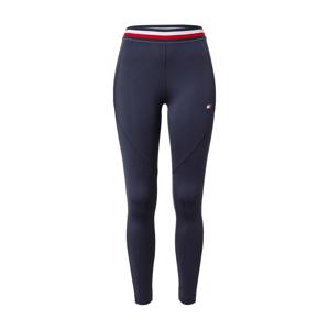 Tommy Sport Sportovní kalhoty  námořnická modř / červená / bílá