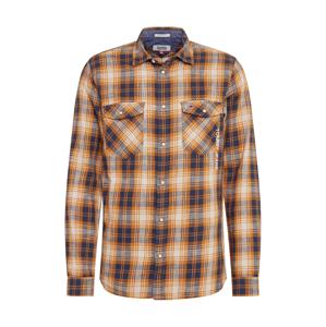 Tommy Jeans Košile 'WESTERN'  šafrán / béžová / námořnická modř
