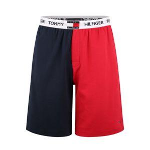 Tommy Hilfiger Underwear Pyžamové kalhoty  námořnická modř / ohnivá červená