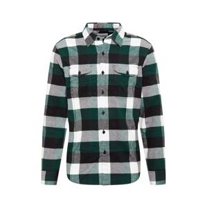 American Eagle Košile 'FINA'  zelená / černá / bílá