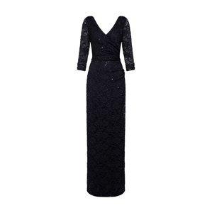 STAR NIGHT Společenské šaty  černá