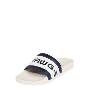 G-Star RAW Pantofle 'Cart Slide III'  tmavě modrá / bílá