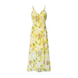 Trendyol Letní šaty  žlutá / zelená / růže