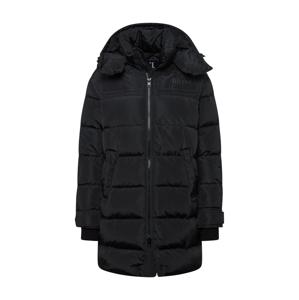 DIESEL Zimní kabát  černá