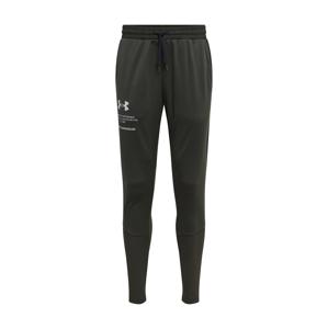 UNDER ARMOUR Sportovní kalhoty  zelená