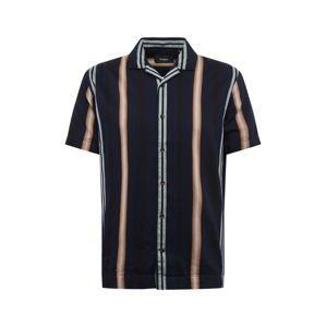 Matinique Košile 'trostol'  béžová / námořnická modř / offwhite