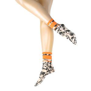 Wolford Ponožky 'Gloria'  bílá / černá