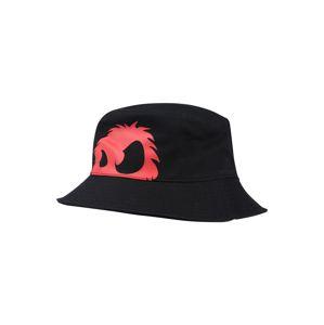 McQ Alexander McQueen Čepice 'BUCKET HAT'  červená / černá
