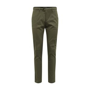 DRYKORN Kalhoty s puky 'KILL'  tmavě zelená
