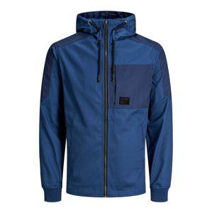 JACK & JONES Přechodná bunda  tmavě modrá / modrá