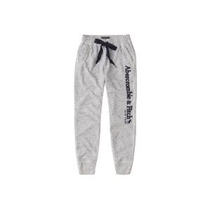 Abercrombie & Fitch Kalhoty  tmavě šedá
