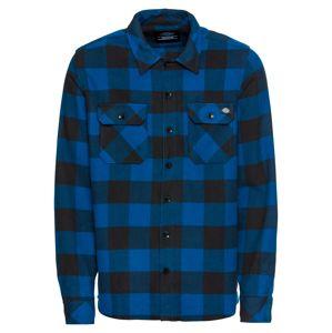 DICKIES Košile 'Sacramento'  modrá / černá