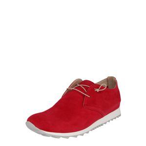 Donna Carolina Šněrovací boty  fuchsiová / červená / bílá