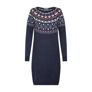 EDC BY ESPRIT Úpletové šaty 'jaquard dress'  mix barev