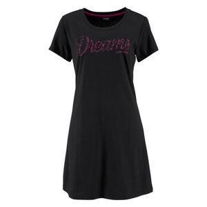 VIVANCE Schlafshirts  pink / černá