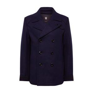 G-STAR RAW Přechodný kabát 'Traction wool peacoat'  tmavě modrá