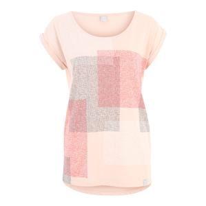Iriedaily Tričko 'Geometric'  fialová / růžová