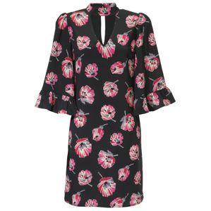 Heine Letní šaty  pink / černá
