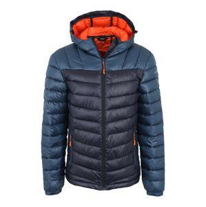 ICEPEAK Outdoorová bunda 'Leal'  modrá / námořnická modř / oranžová