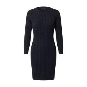 GANT Pouzdrové šaty  tmavě modrá