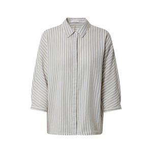 OPUS Halenka 'Frona stripe'  bílá / světlemodrá