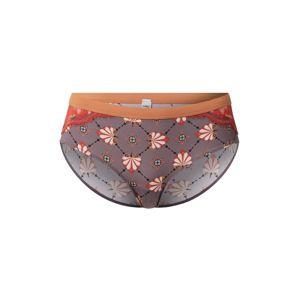 Mey Kalhotky  pastelová fialová / tmavě oranžová