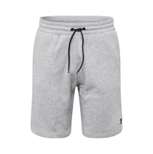 Tommy Sport Sportovní kalhoty  šedá / námořnická modř / bílá / červená