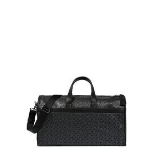 Calvin Klein Cestovní taška  šedá / černá