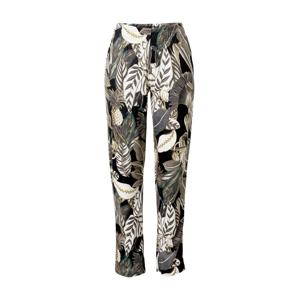 CALIDA Pyžamové kalhoty  bílá / černá / khaki / šedobéžová