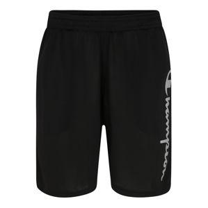 Champion Authentic Athletic Apparel Sportovní kalhoty 'BERMUDA'  světle šedá / černá
