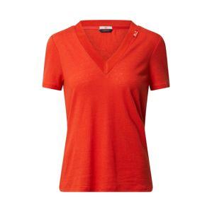 SCOTCH & SODA Tričko  oranžově červená