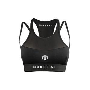 MOROTAI Sportovní podprsenka  černá / bílá